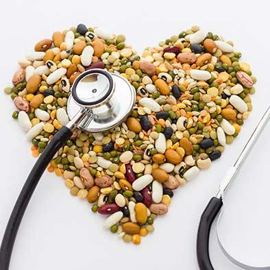 vegan heart legumes